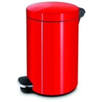 Ведро для мусора с педалью 20 л. красный