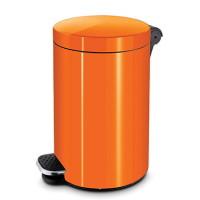 Ведро для мусора с педалью 3 л. Оранжевый