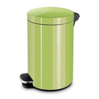 Ведро для мусора с педалью 5 л. Зеленый