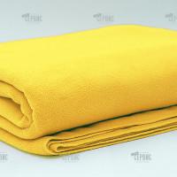 Плед желтый