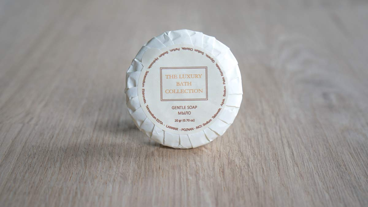 Мыло для гостниц