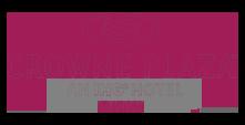 Логотип нашего клиента отеля crowne plasa