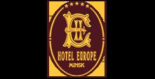 Логотип нашего клиента гостиницы Европа