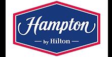 Логотип нашего клиента комлекс отеля Хэмптон