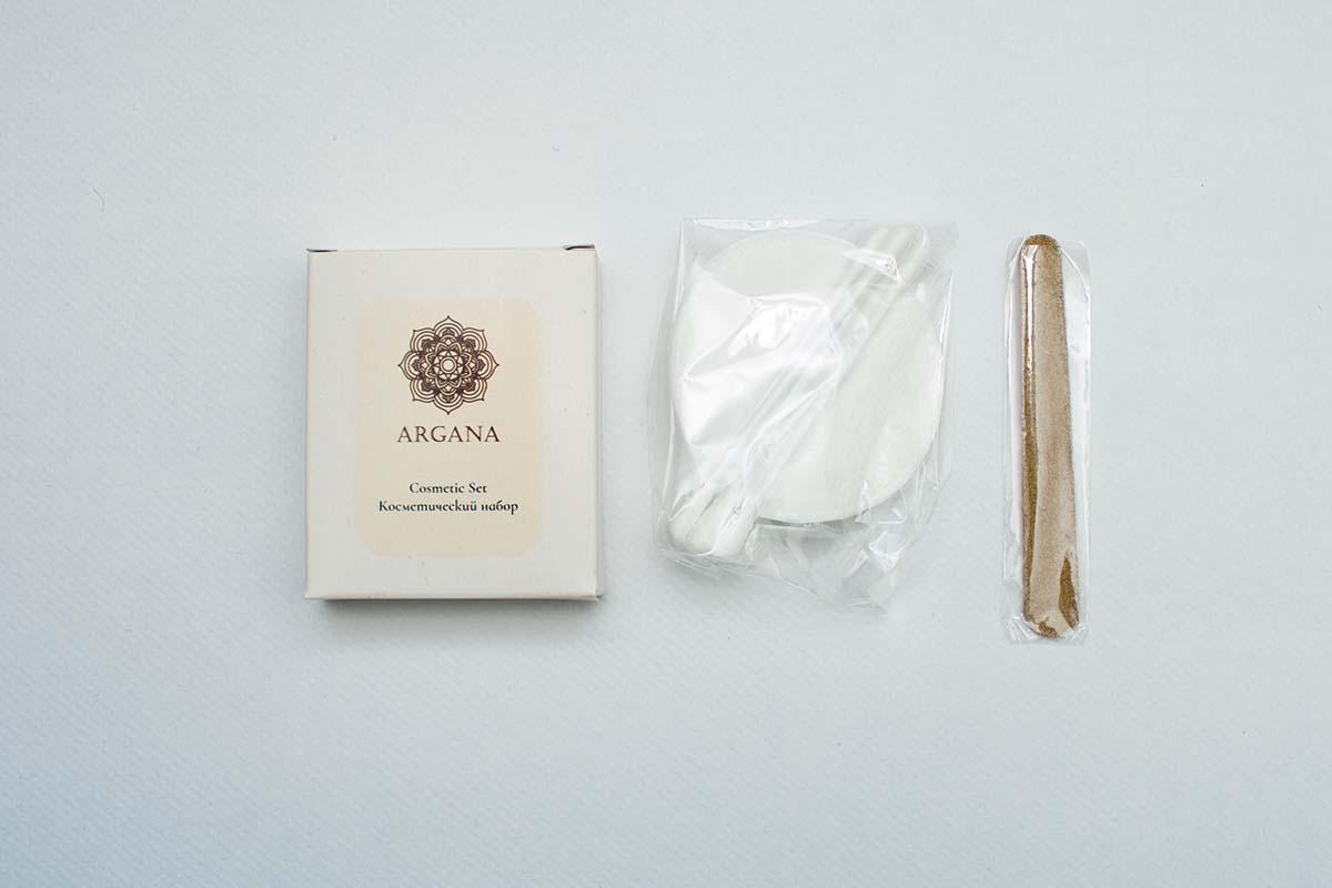 Косметический набор Argana содержимое