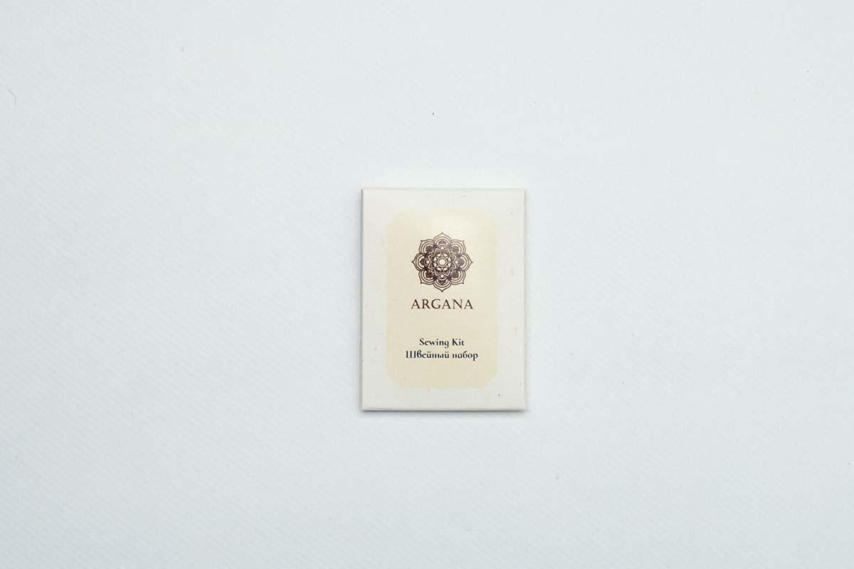 Швейный набор для гостиниц  Argana упаковка